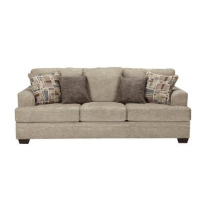 Ashley Barrish Beige Twill Sofa