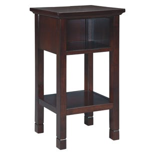 Luke USB Port Accent Table