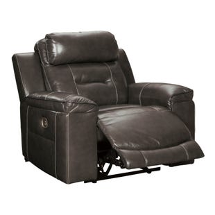 Ashley Pomellato Top Grain Leather Power Recliner