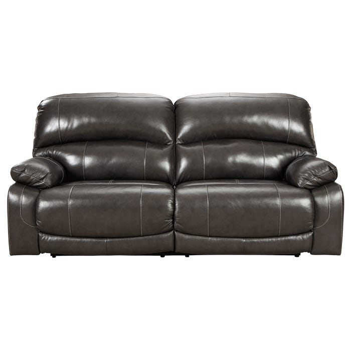 Superb Ashley Hallstrung Top Grain Leather Power Reclining Sofa Bralicious Painted Fabric Chair Ideas Braliciousco