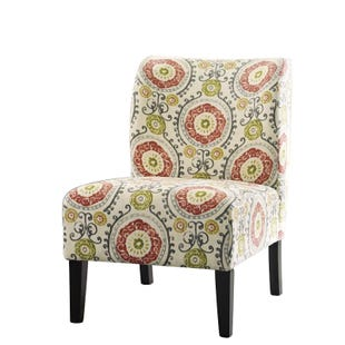 Ashley Honor Floral Armless Accent Chair