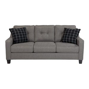 Button Back Brindon Sofa Charcoal