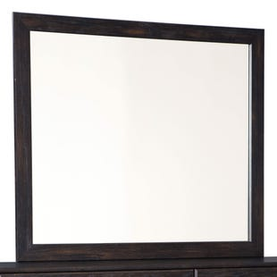 Reylow Brown Worn Paint Mirror
