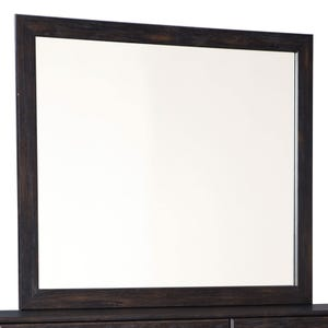 Ashley Reylow Brown Worn Paint Mirror