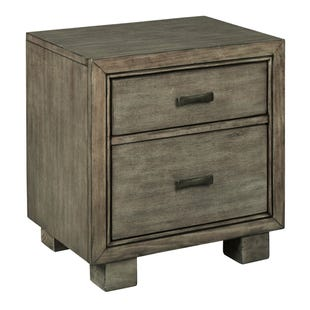 Ashley Ashton Smokey Gray 2 Drawer Nightstand