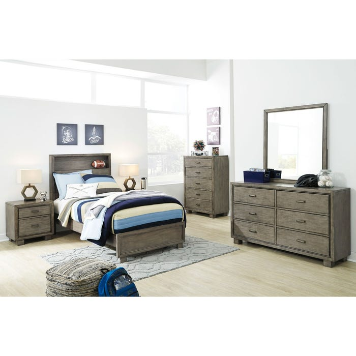 7bc7e128772b Ashley Ashton Smokey Gray Queen Bed | Weekends Only Furniture