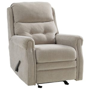 Ashley Penzberg Stone Glider Recliner