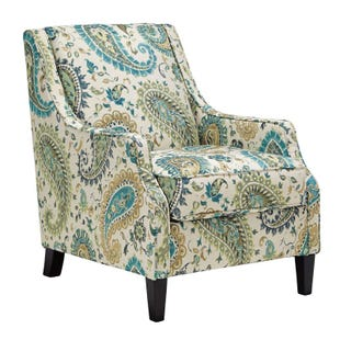 Ashley Lochian Paisley Accent Chair