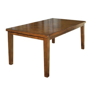 Ralene Gently Distressed Brown Dining Table