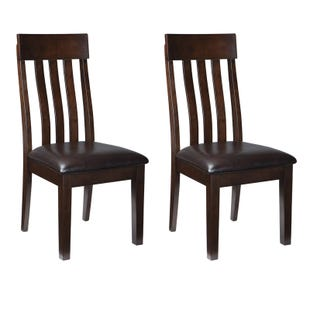 Ralene Espresso Contemporary Set of 2 Dining Chairs