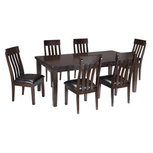 Ashley Haddigan 7 Piece Contemporary Dining Set