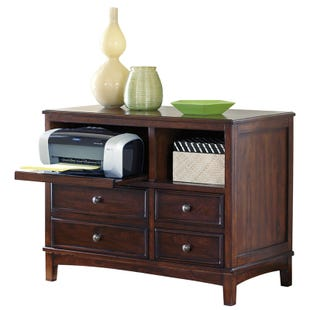 Ashley Brown Devrik Storage Cabinet