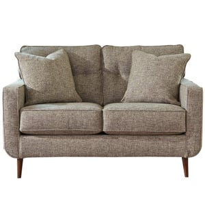 Ashley Chento Jute Mid Century Sofa Weekends Only Furniture