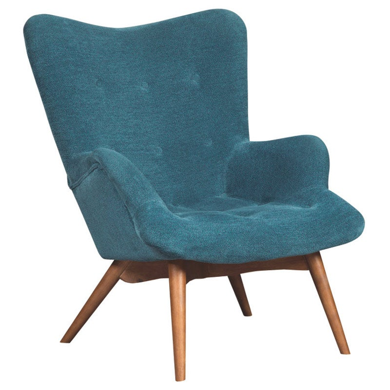 sc 1 st  Weekends Only & Ashley Pelsor Modern Turquoise Accent Chair | Weekends Only Furniture