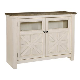 "Bolanburg 50"" TV Stand White and Brown"