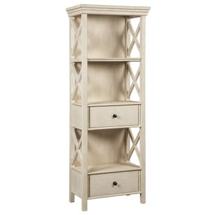 Bolanburg White Farmhouse Display Cabinet