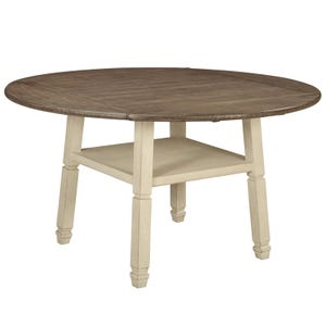 Bolanburg Round Drop Leaf Table