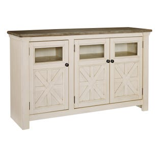"Bolanburg 60"" TV Stand White and Brown"