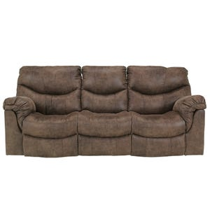 Ashley Alzena Brown Reclining Sofa
