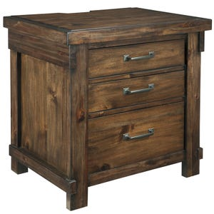 Lakeleigh 3 Drawer Nightstand