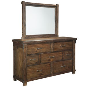 Ashley Lakeleigh 2 Piece Dresser and Mirror