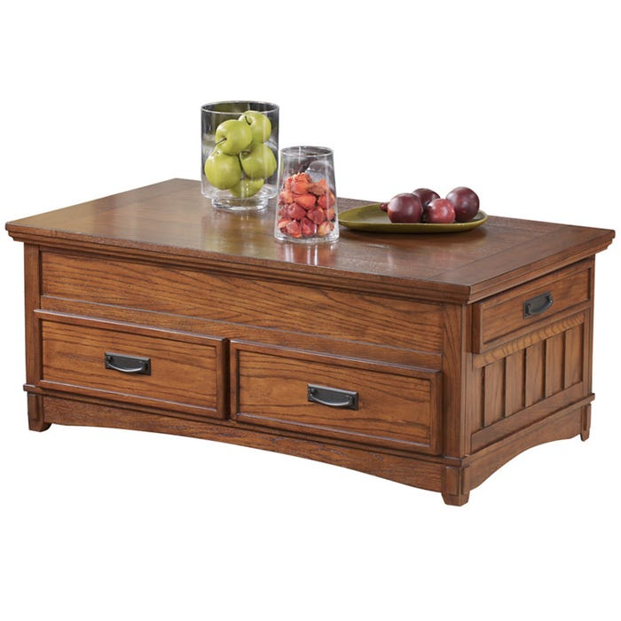 Cross Island Lift Top Coffee Table Weekends Only Furniture
