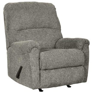 Ashley Termoli Granite Chenille Recliner