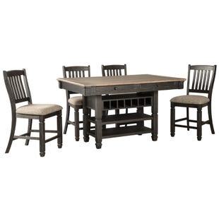 Tyler Creek 5 Piece Counter Height Dining Set