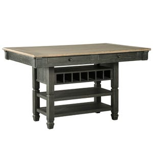 Bolanburg Black Weathered Oak Counter Height Dining Table
