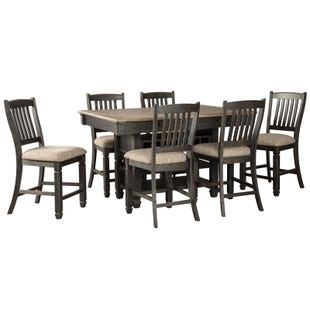 Bolanburg 7 Piece Antique Black Counter Height Dining Set