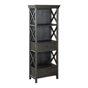 Bolanburg Antique Black Weathered Oak Display Cabinet