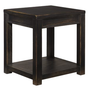 Ashley Gavelston Black End Table