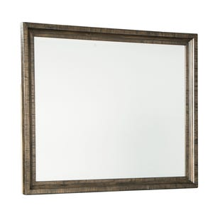 Ashley Darloni Weathered Gray/Brown Mirror