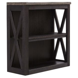 Bolanburg Grayish Brown/Black Medium Bookcase
