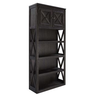 Ashley Tyler Creek Grayish Brown/Black Large Bookcase
