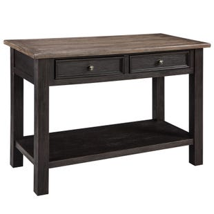 Ashley Tyler Creek Brown and Black Sofa Table