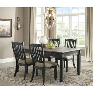 Bolanburg 5 Piece Dining Set Black Gray