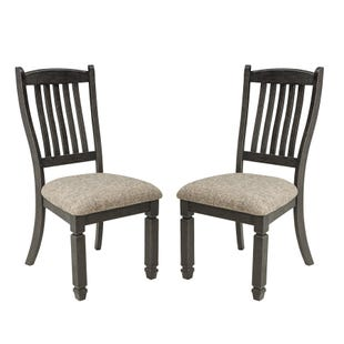 Bolanburg Set of 2 Chairs Black and Gray