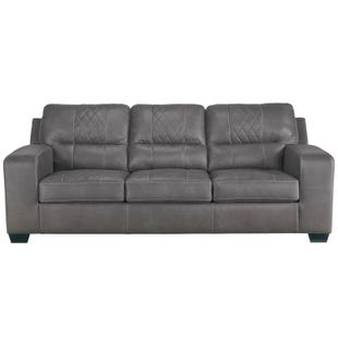 Quilted Cullen Sofa Gray