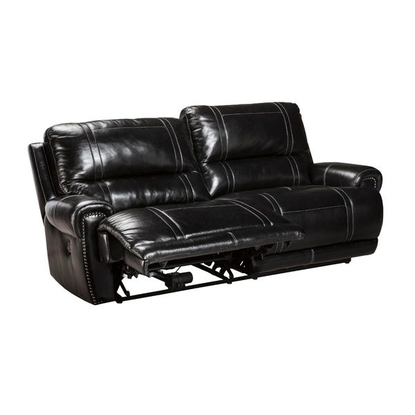 Paron 2 Seat Leather Reclining Sofa | Weekends Only Furniture