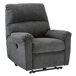 Ashley McAfee Gray Power Recliner