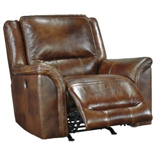Jayon Leather Power Recliner