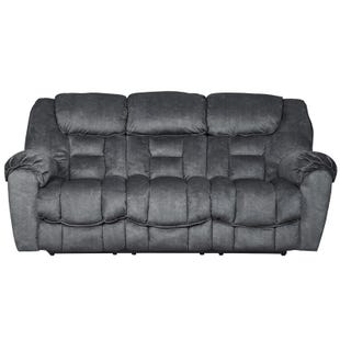 Capehorn Reclining Sofa Gray