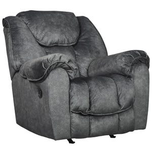 Ashley Capehorn Granite Rocker Recliner