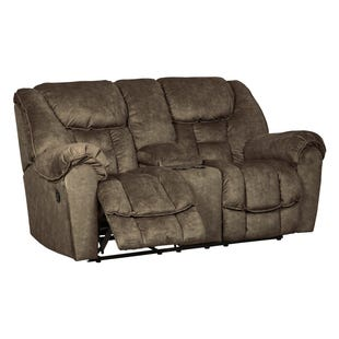 Ashley Capehorn Earth Reclining Loveseat