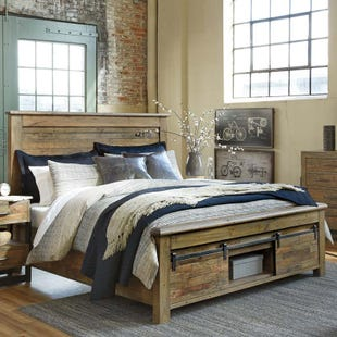 Ashley Sommerford King Storage Bed