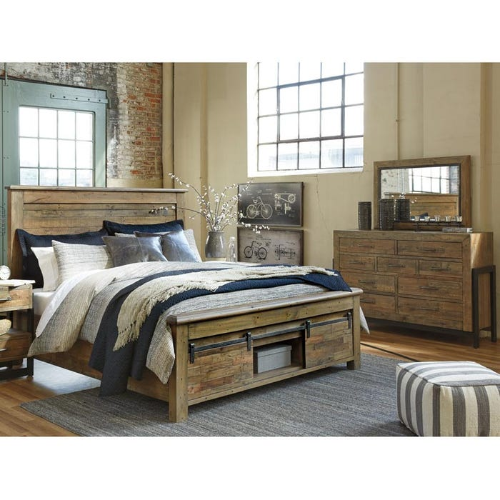 Ashley Sommerford King Storage Bedroom Set Weekends Only Furniture