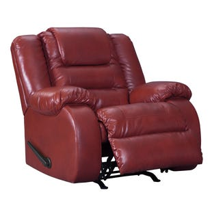 Vacherie Rocker Recliner Red