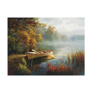 Sunset Lake Canvas Art