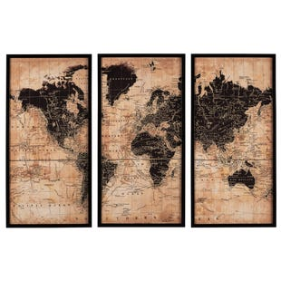 World Passport Triptych Set